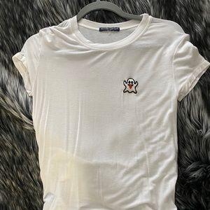 Brandy Melville ghost t shirt